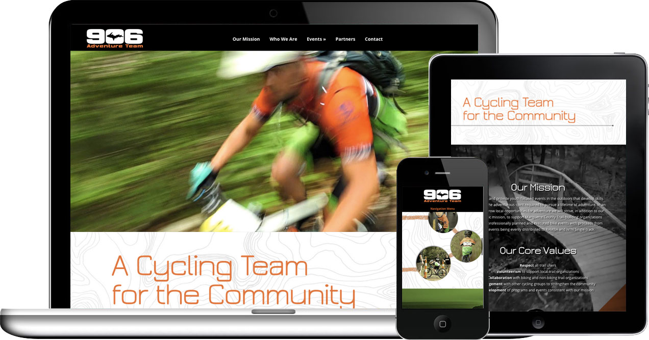 906 adventure team wordpress website