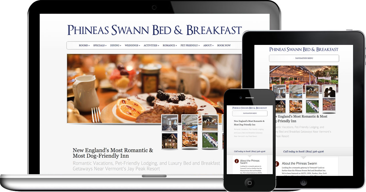 phineas swann wordpress website