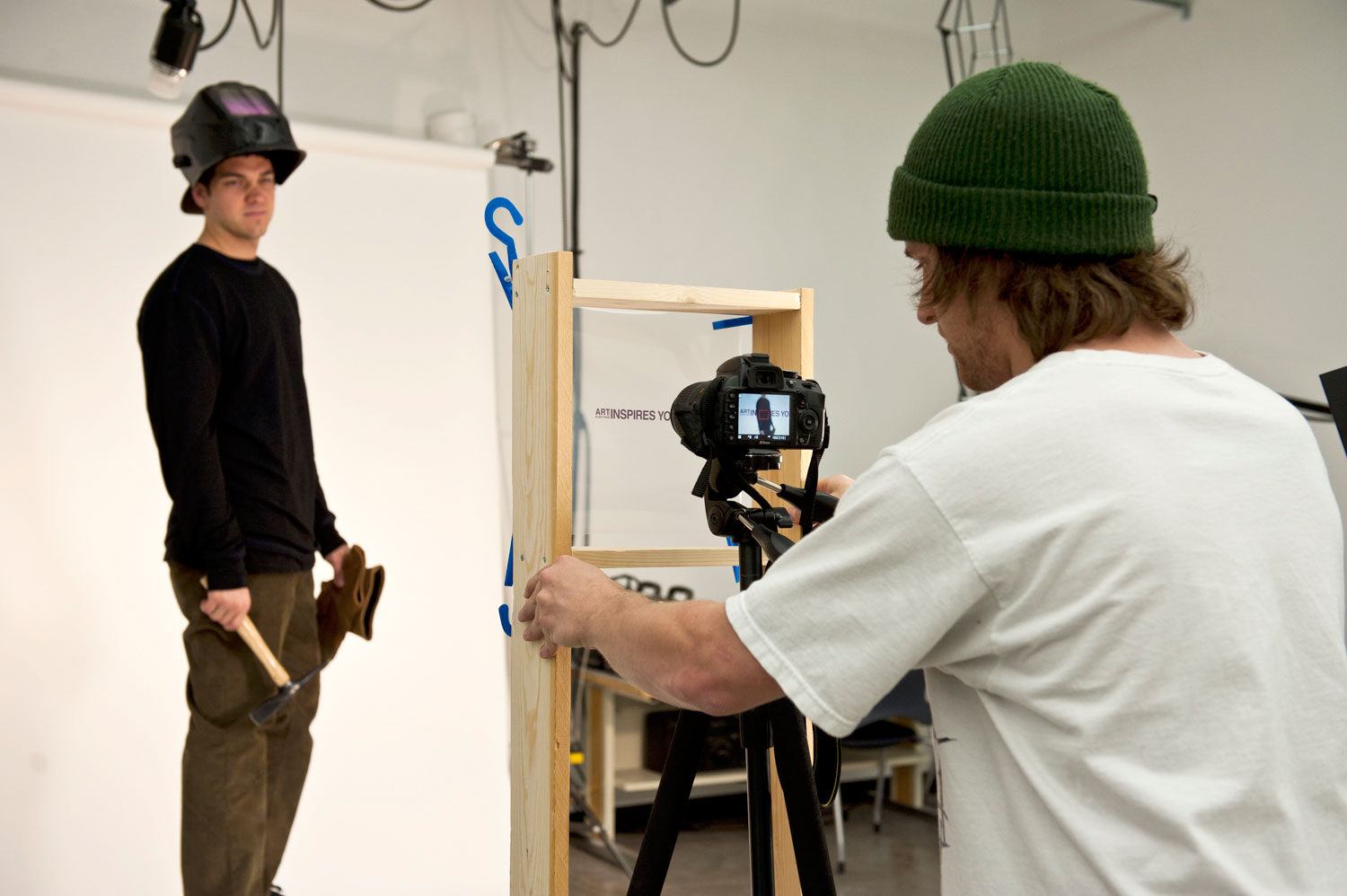 northern michigan university videography photography studio