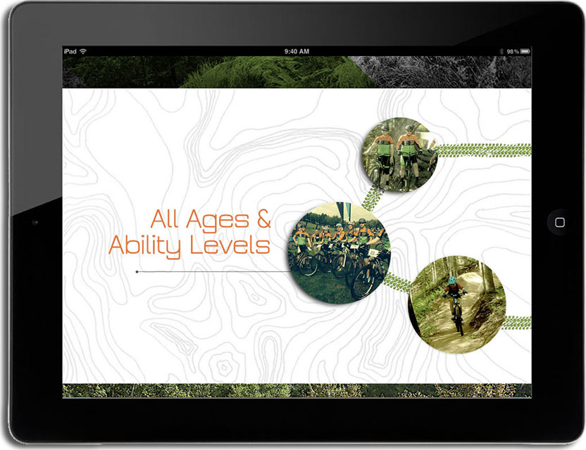 906 adventure team wordpress website tablet